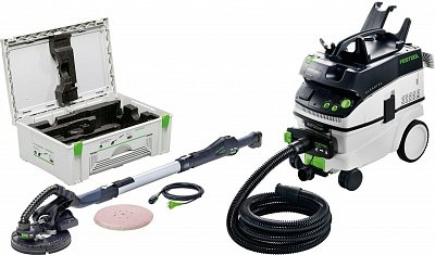 FESTOOL PLANEX LHS 225-IP/CTL 36 E AC-SET